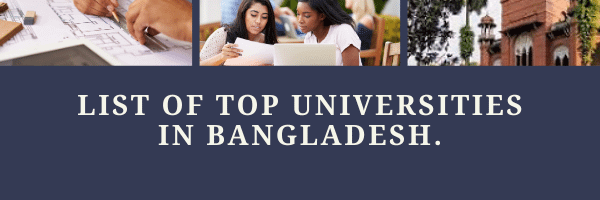 list of best university in Bangladesh